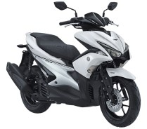 AEROX 155 VVA S Version warna putih White pertamax7.com